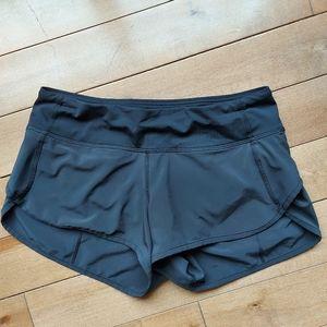 Lululemon Athletica black speed shorts